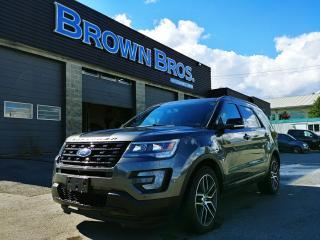 Used 2017 Ford Explorer Sport, LOCAL, ACCIDENT FREE, NAVI, LTHR, LOADED! for sale in Surrey, BC