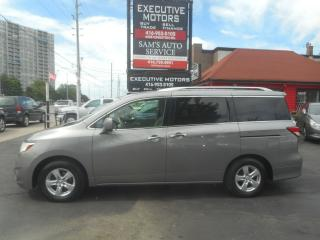 Used 2011 Nissan Quest SV / A/C / ALLOYS / CERTIFIED / POWER DOORS / for sale in Scarborough, ON