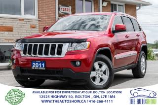 Used 2011 Jeep Grand Cherokee V6 4WD 1 OWNER ALL NEW TIRES & BRAKES AUTOSTART for sale in Caledon, ON