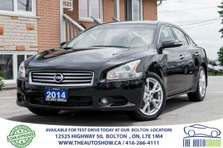 Used 2014 Nissan Maxima LEATHER/ROOF REAR CAM. SERVICE RECORDS NEW TIRES for sale in Caledon, ON