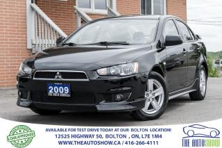 Used 2009 Mitsubishi Lancer SE for sale in Caledon, ON