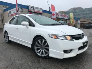 Used 2009 Honda Civic SI_ACCIDENT FREE_SUNROOF_MANUAL for sale in Oakville, ON