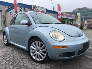 Used 2009 Volkswagen Beetle 2.5L_LEATHER_SUNROOF_ACCIDENT FREE for sale in Oakville, ON