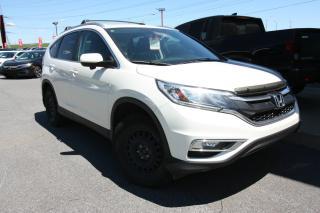 Used 2015 Honda CR-V EX-L + GARANTIE 160 000 KM + MAGS for sale in Sorel-tracy, QC