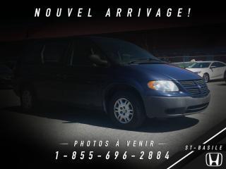 Used 2006 Dodge Caravan BIEN ENTRETENUE + A/C + BEAU / BON / PAS for sale in Saint-basile-le-grand, QC