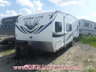 Used 2013 Forest River HYPER LITE TOY HAULER SERIES 27H  TOY HAULER for sale in Calgary, AB