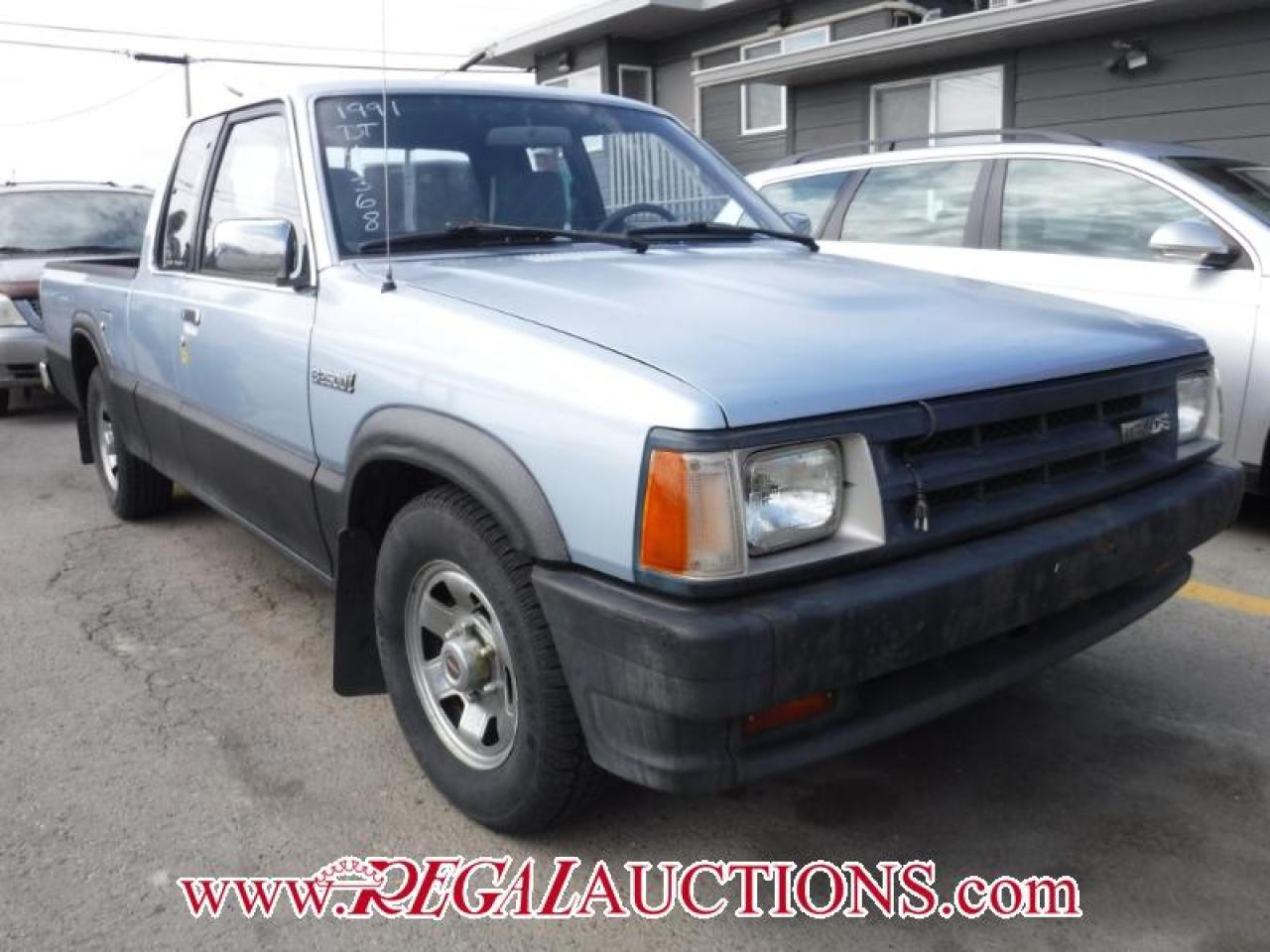 Photo of Blue 1991 Mazda B2600I  2D REG CAB 2WD