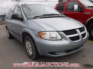 Used 2003 Dodge CARAVAN  WAGON for sale in Calgary, AB