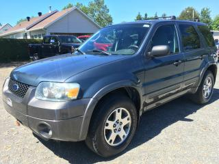 Used 2005 Ford Escape 4 portes, XLT, boîte automatique 4 RM for sale in Thetford Mines, QC
