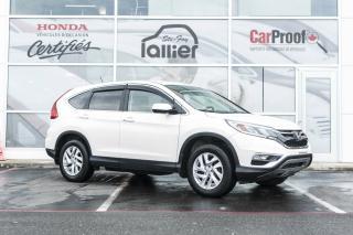 Used 2016 Honda CR-V SE AWD for sale in Quebec, QC