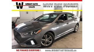 Used 2018 Hyundai Sonata Sport|SUNROOF|BLUETOOTH|BACKUP CAMERA|24,971 KMS for sale in Cambridge, ON