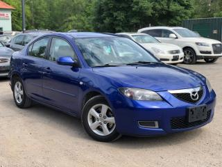 Used 2007 Mazda MAZDA3 No-Accidents GS Auto Power Group Cruise A/C for sale in Newmarket, ON