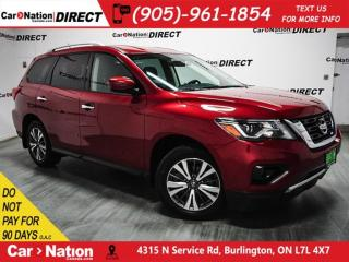 Used 2017 Nissan Pathfinder SV| 4X4| BACK UP CAMERA & SENSORS| for sale in Burlington, ON