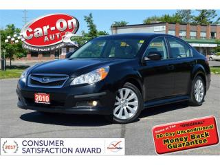 Used 2010 Subaru Legacy 3.6 R Limited LEATHER SUNROOF LOADED ONLY 51,000KM for sale in Ottawa, ON