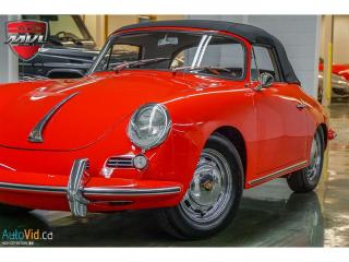 Used 1964 Porsche 356 SC Cabriolet for sale in Oakville, ON