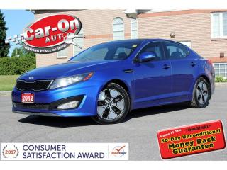 Used 2012 Kia Optima SX TURBO LEATHER NAV PANO ROOF REAR CAM HTD LOADED for sale in Ottawa, ON