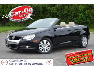 Used 2008 Volkswagen Eos 2.0T CONVERTIBLE LEATHER HTD SEATS ONLY 69,000 KM for sale in Ottawa, ON