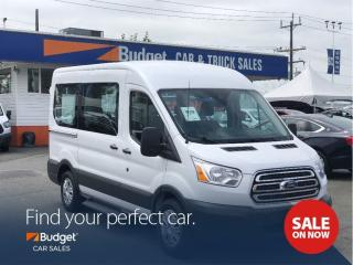 Used 2017 Ford Transit Passenger Wagon 8 Passenger, Super Clean, Reliable, Low Kms for sale in Vancouver, BC