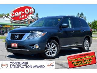 Used 2014 Nissan Pathfinder SL 4X4 7-seat LEATHER REAR CAM HTD SEATS for sale in Ottawa, ON