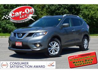 Used 2016 Nissan Rogue SV SPECIAL EDITION AWD REAR CAM HTD SEATS LOADED for sale in Ottawa, ON