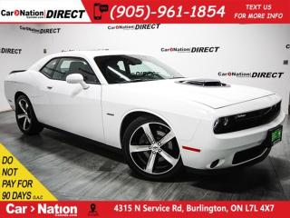 Used 2017 Dodge Challenger R/T Shaker| SUNROOF| NAVI| LOW KM'S| for sale in Burlington, ON