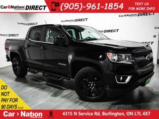 Used 2016 Chevrolet Colorado LT| 4X4| TONNEAU COVER| NAVI| for sale in Burlington, ON