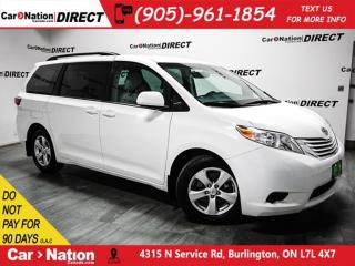 Used 2017 Toyota Sienna LE| BACK UP CAMERA| POWER DRIVERS SEAT| for sale in Burlington, ON