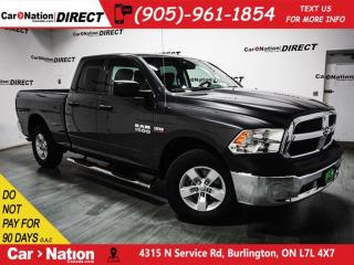 Used 2017 RAM 1500 SXT| HEMI| 4X4| BACK UP CAMERA| for sale in Burlington, ON