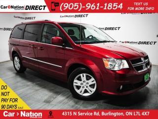 Used 2015 Dodge Grand Caravan Crew Plus| NAVI| DUAL DVD| SUNROOF| LOW KM'S| for sale in Burlington, ON