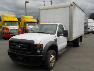 Used 2008 Ford F-450 SD Regular Cab 16 Foot Cube Van Diesel for sale in Burnaby, BC