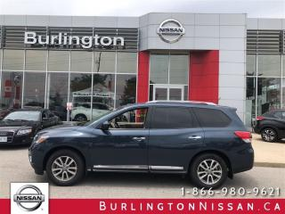 Used 2016 Nissan Pathfinder SL, NAVi, LEATHER, ACCIDENT FREE ! for sale in Burlington, ON