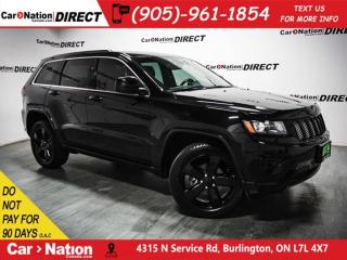 Used 2015 Jeep Grand Cherokee Altitude| NAVI| SUNROOF| LEATHER| for sale in Burlington, ON