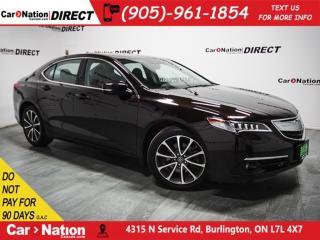 Used 2015 Acura TLX V6 Elite| SUNROOF| NAVI| BACK UP CAM & SENSORS| for sale in Burlington, ON