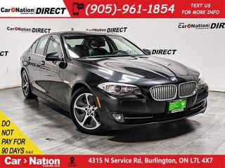 Used 2012 BMW 5 Series ActiveHybrid5 | NAVI| SUNROOF| BACK UP CAMERA & SENSORS| for sale in Burlington, ON