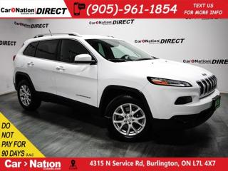 Used 2015 Jeep Cherokee North| 4X4| NAV-READY| BACK UP CAMERA| for sale in Burlington, ON