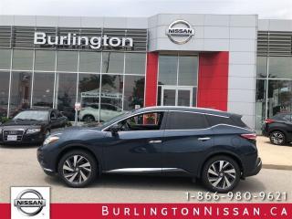 Used 2015 Nissan Murano Platinum for sale in Burlington, ON
