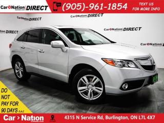 Used 2015 Acura RDX w/Technology Package| NAVI| SUNROOF| AWD| for sale in Burlington, ON