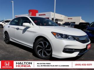 Used 2016 Honda Accord EX-L|ACCIDENT FREE|SERVICE HISTORY ON FILE for sale in Burlington, ON