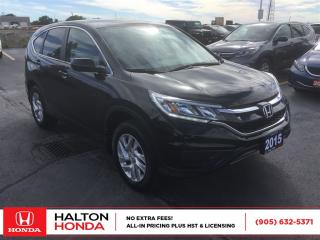 Used 2015 Honda CR-V SE|ACCIDENT FREE|SERVICE HISTORY ON FILE for sale in Burlington, ON