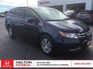 Used 2015 Honda Odyssey EX|ACCIDENT FREE|SERVICE HISTORY ON FILE for sale in Burlington, ON