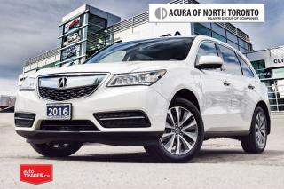 Used 2016 Acura MDX NAVI for sale in Thornhill, ON