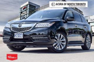 Used 2016 Acura MDX Tech Advanced Running Boards/Remote Start/ Siri Ey for sale in Thornhill, ON