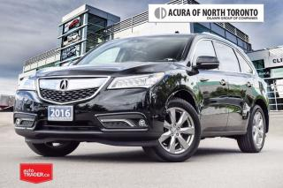 Used 2016 Acura MDX Elite Accident Free| DVD| Remote Start for sale in Thornhill, ON