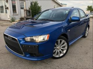 Used 2010 Mitsubishi Lancer Ralliart|Navi|Leather|Sunroof|One owner| for sale in Burlington, ON