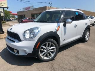Used 2012 MINI Cooper Countryman S AWD LEATHER PANORAMIC ROOF PREMIUM PACKAGE for sale in St Catharines, ON
