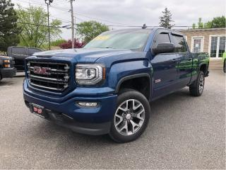 Used 2017 GMC Sierra 1500 SLT | ALL TERRAIN| 4X4 | LEATHER for sale in St Catharines, ON