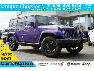 Used 2018 Jeep Wrangler UNLIMITED ALTITUDE| DUAL TOP| NAV| BLUETOOTH for sale in Burlington, ON