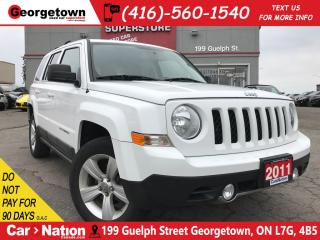 Used 2011 Jeep Patriot LIMITED LEATHER| SUNROOF| 4X4| HTD SEATS| ALLOYS for sale in Georgetown, ON