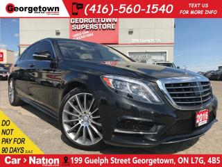 Used 2016 Mercedes-Benz S-Class S550 4MATIC LWB | ONLY 26KMS | MASSAGE SEATS for sale in Georgetown, ON