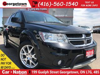 Used 2016 Dodge Journey Limited | DVD | CAM | SUNROOF | HTD SEAT/WHEEL for sale in Georgetown, ON